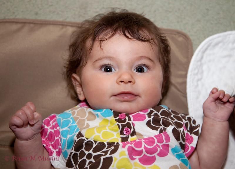 Sarina, age 3 months