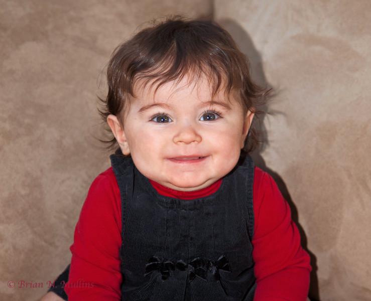 Sarina's first Christmas, 2011