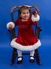Sarina gets ready for Christmas, 2012