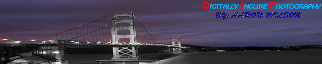 This is a picture of the golder gate bridge.  This picture was shot at night.
