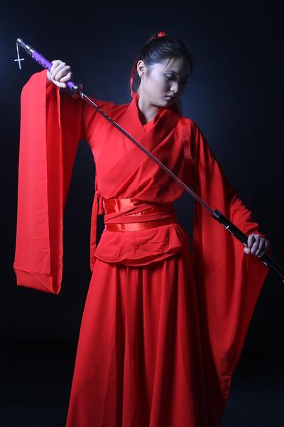 Asian Warrior princess