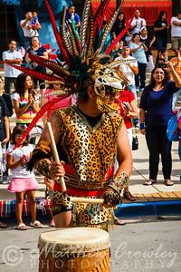 2012 Fiestas Patrias parade and festival, Aurora, Illinois