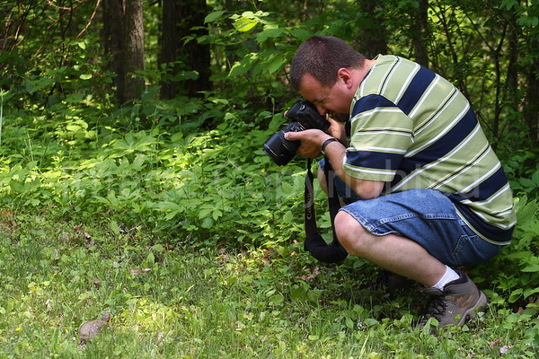 Me Shooting a Turtle On Blue Ridge Parkway - 6/14/07