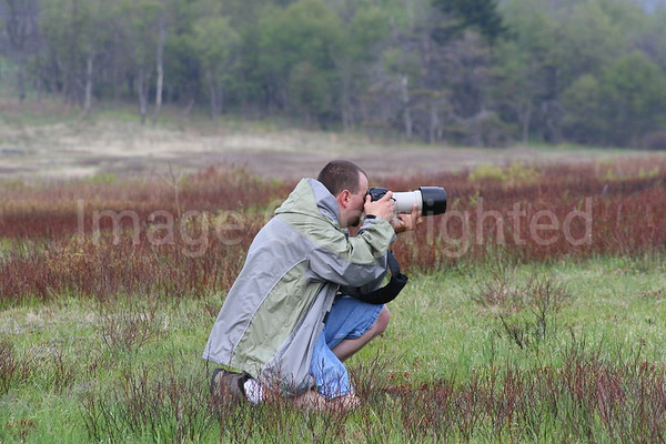 Me Shooting Deer at Big Meadows SNP - 6/14/07
