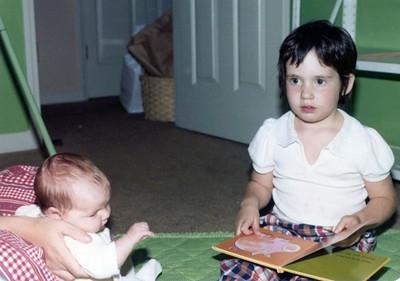 Sandy, Molly, Betsy, November '81