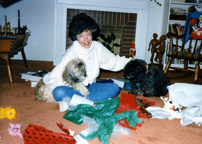 Aunt Mercy with Maggie & Freetie