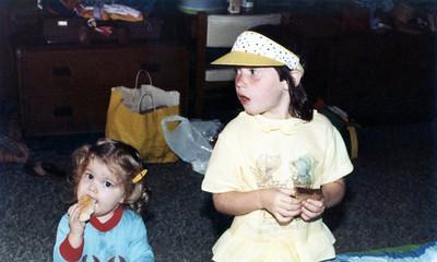 Molly & Betsy, October '83