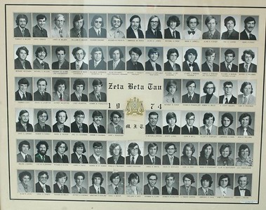 """1974 Composite Photo -- Click on this photo to see it enlarged.  Then, look below the enlarged photo, and click on the word """"original"""".  This will give you a really large image, and you should be able to read the names below everyone's photo in the composites."""