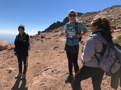 These awesome young ladies started from The Crags TH.
