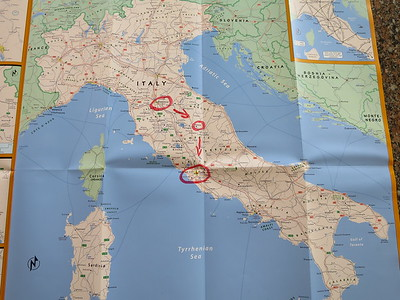 Italy is part of Europe! ... Some people think it's shaped like a boot, but once you get there you can't tell.