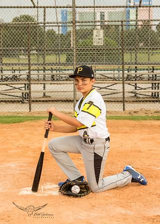 Pirates Baseball Fall 2018-Linken Frank - 7-4