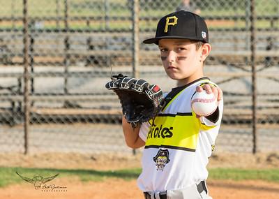 Pirates Baseball Fall 2018-Raiden Logan - 12-4