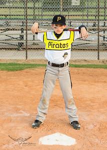 Pirates Baseball Fall 2018-Houstyn Stites - 4-9