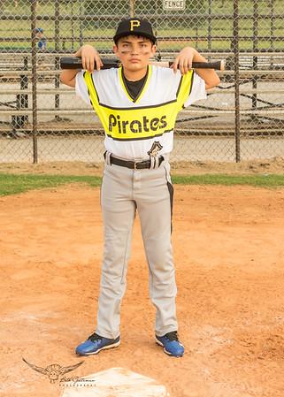 Pirates Baseball Fall 2018-Linken Frank - 7
