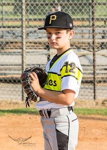 Pirates Baseball Fall 2018-Raiden Logan - 12-5