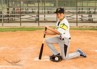 Pirates Baseball Fall 2018-Linken Frank - 7-3