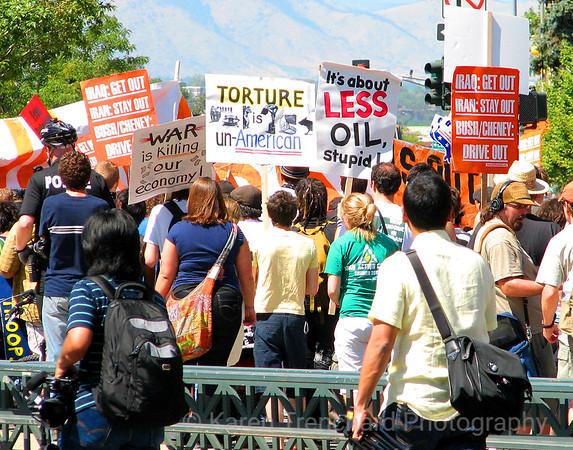 Less  Oil, DNC, Denver, '08