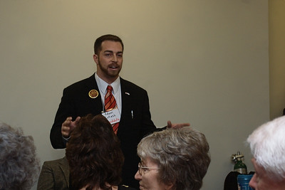 Adam Kokesh speaking at the Sandoval County Pre-Primary Convention on February 20, 2010.