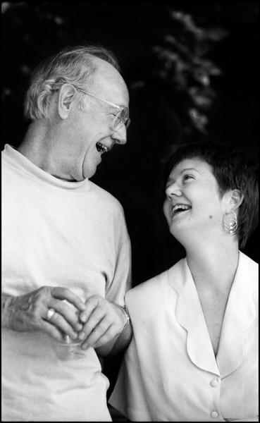 Lisa and Dale Paul, 1993.<br /> Olympus 35RC rangefinder
