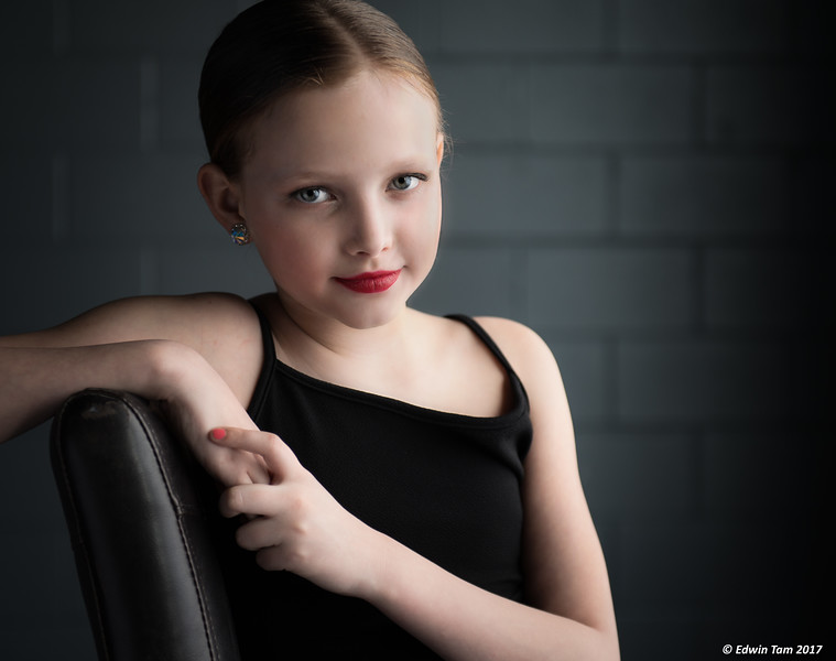 Dance Photo Session at Milestone Photography Studio on April 17, 2017, featuring Ava Jankovich with Patty Jankovich.