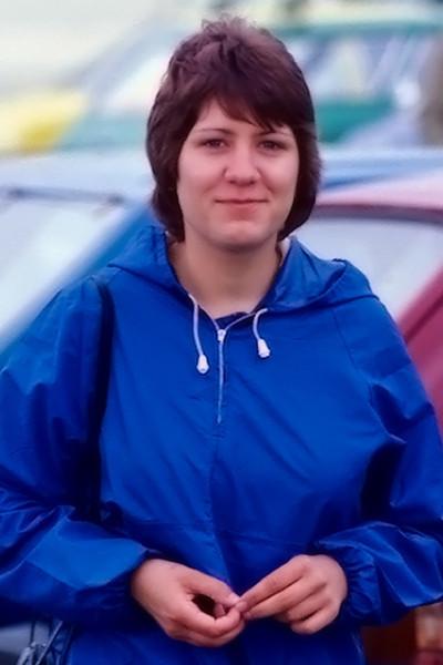 Deb at Duxford 1980's