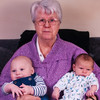 Great Grandma with Louis and Max