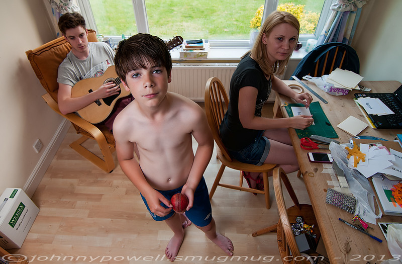 Harry, Ike and Amy.