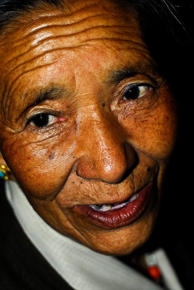 Dadon's Grandmother 2006,  Mcleod Ganj, India