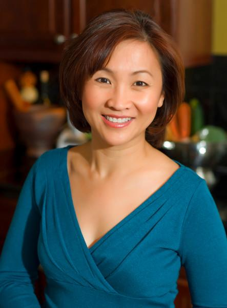 "Yume Tran, TV personality, Chef and restauranteur,  portrait for cookbook cover<br /> <br /> <a href=""http://www.indochine-cuisine.com/"">http://www.indochine-cuisine.com/</a>"