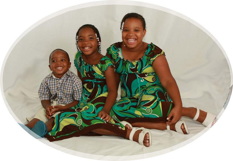 Three of Marjorie Crandell's Grandchildren.