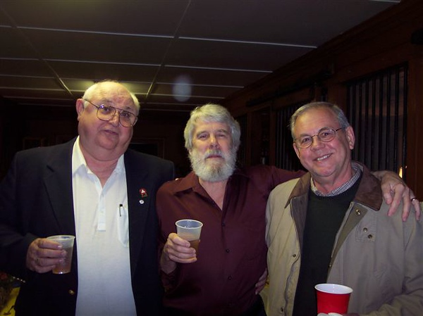 (l-r) Johnny Mac Walson, Alex Warren, and Gerald Sylivant were Snow Hill buddied from grade school until parting ways to attend college.  The three were known for their explorations up and down Contentnea Creek.