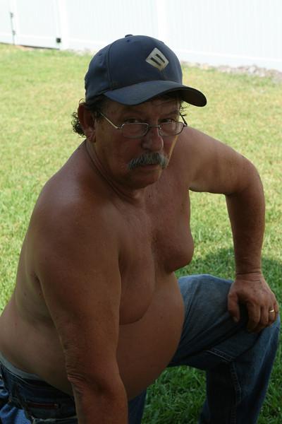 Bobbie Whitehurst, owner of B&W Fence, Greenville.
