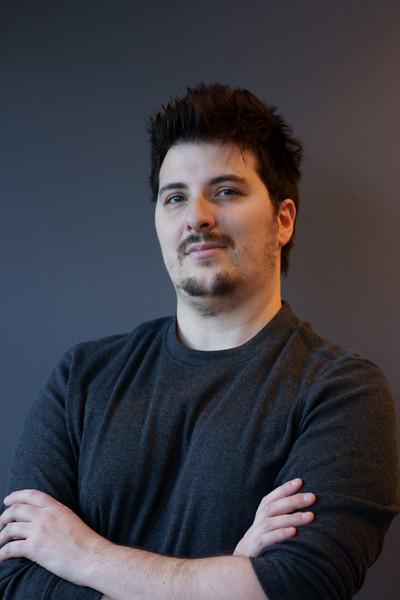 "Portrait, Eric: Owner FuzionTEK Hair Studio <a href=""http://www.fuziontekhairstudio.ca/"">http://www.fuziontekhairstudio.ca/</a> edit"