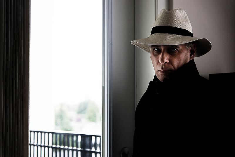 Man in Cuenca hat