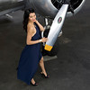 Aviation pinup shoot