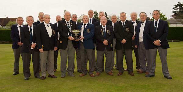 Arclight Bowls Club, winners of the Colchester Borough League 2009