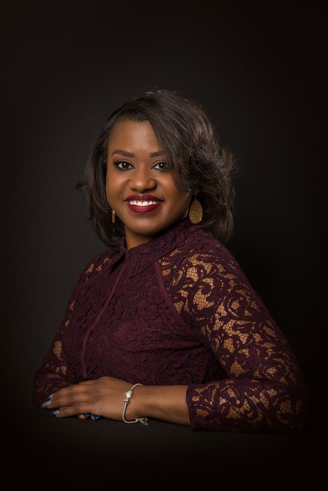 Sherika Guyton, business headshot. Great working with you on this project.