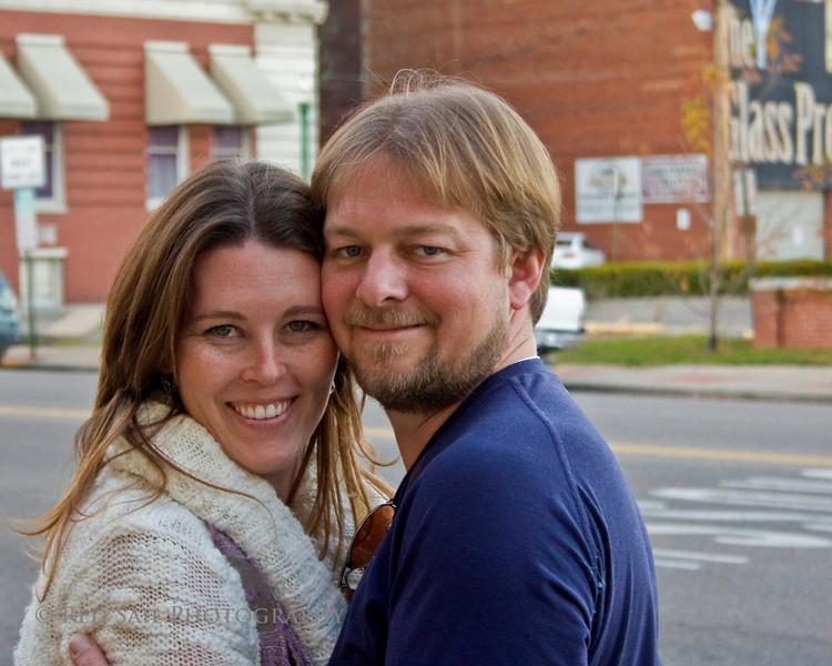 Dana and Craig in Marietta, Ohio.