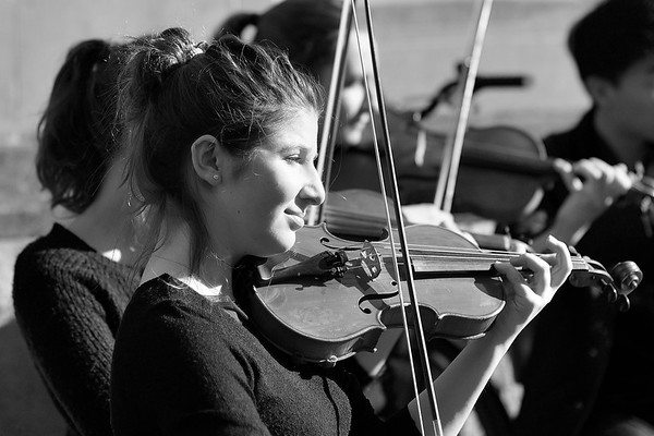 Violinist - Oxford  -Conduct Us- string ensemble