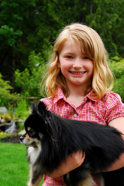 Sarah with pooch