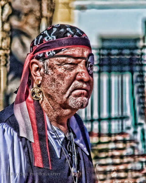 Pirate in Old St. Augustine
