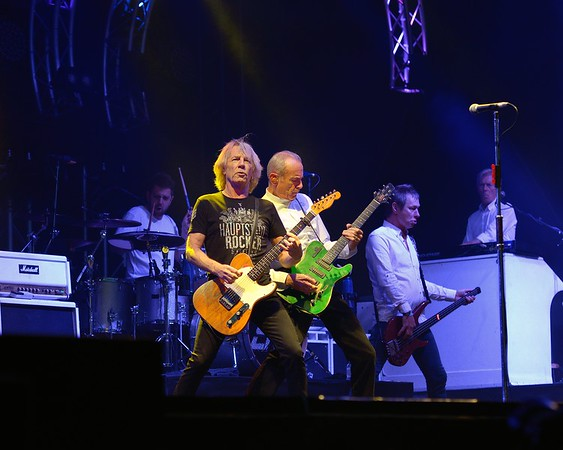 Status Quo at the Silverstone Classic 2015
