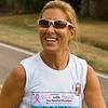 Donna Deegan during her 26.2 marathon. Image used in the Beaches Leader 2009-2010 Information Magazine.