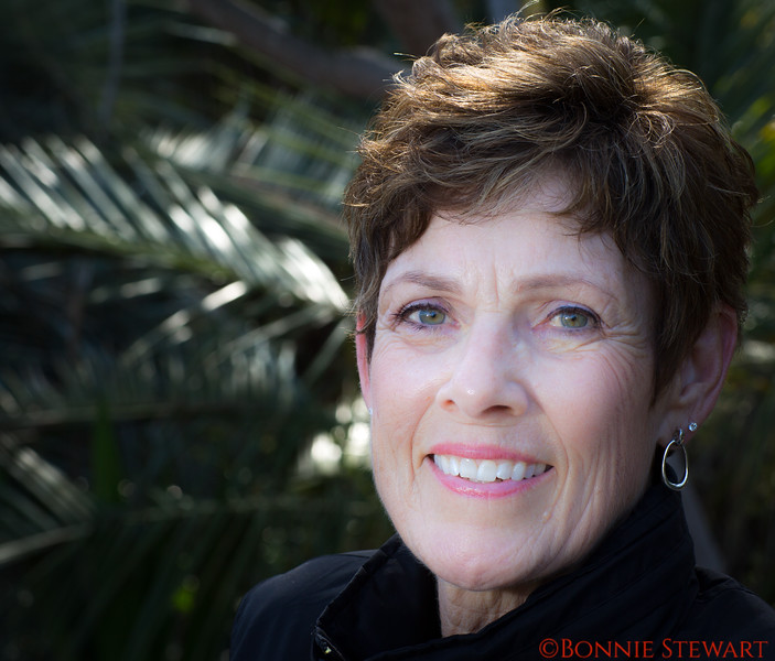Cheryl Schwab at the Botanical Gardens