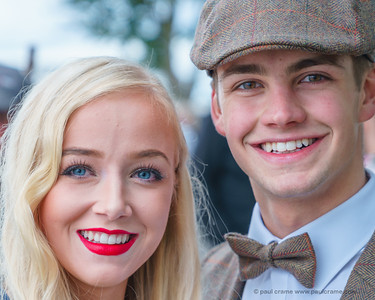 Young Couple - The Goodwood Revival 2018