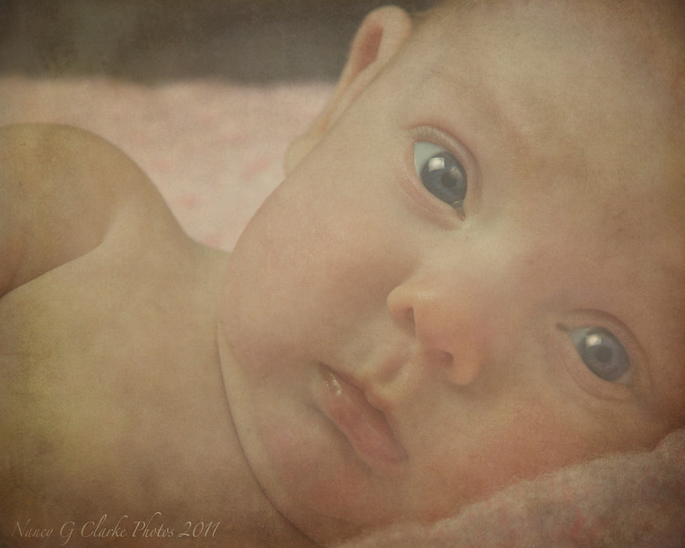 Soft Closeup Baby