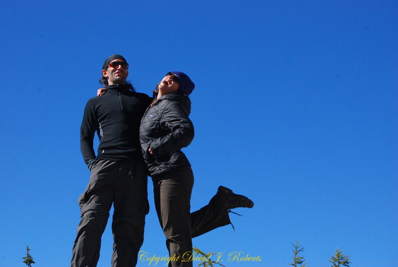 Baccus and Suzy at Cutthroat Pass