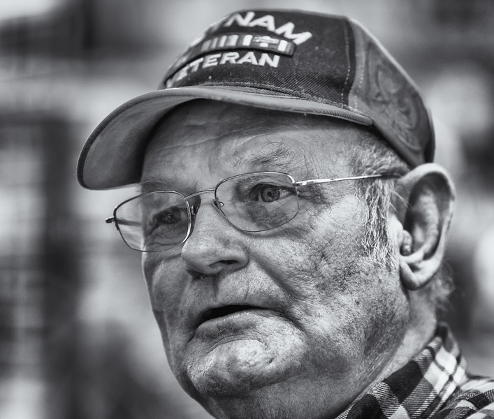 Jim Bill, Vietnam veteran. Berlin, NJ. April 2015