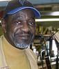 Blues singer, Frank Bey. Berlin, NJ, March 2015.