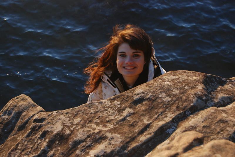 Christa at Clayton Beach